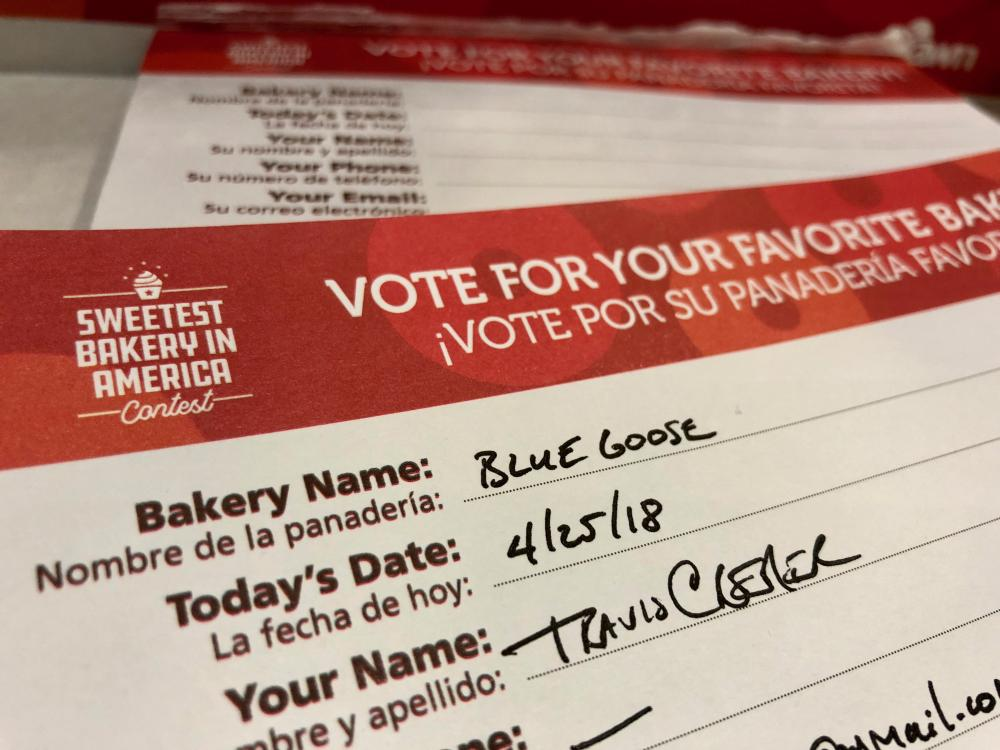 Vote for your favorite bakery