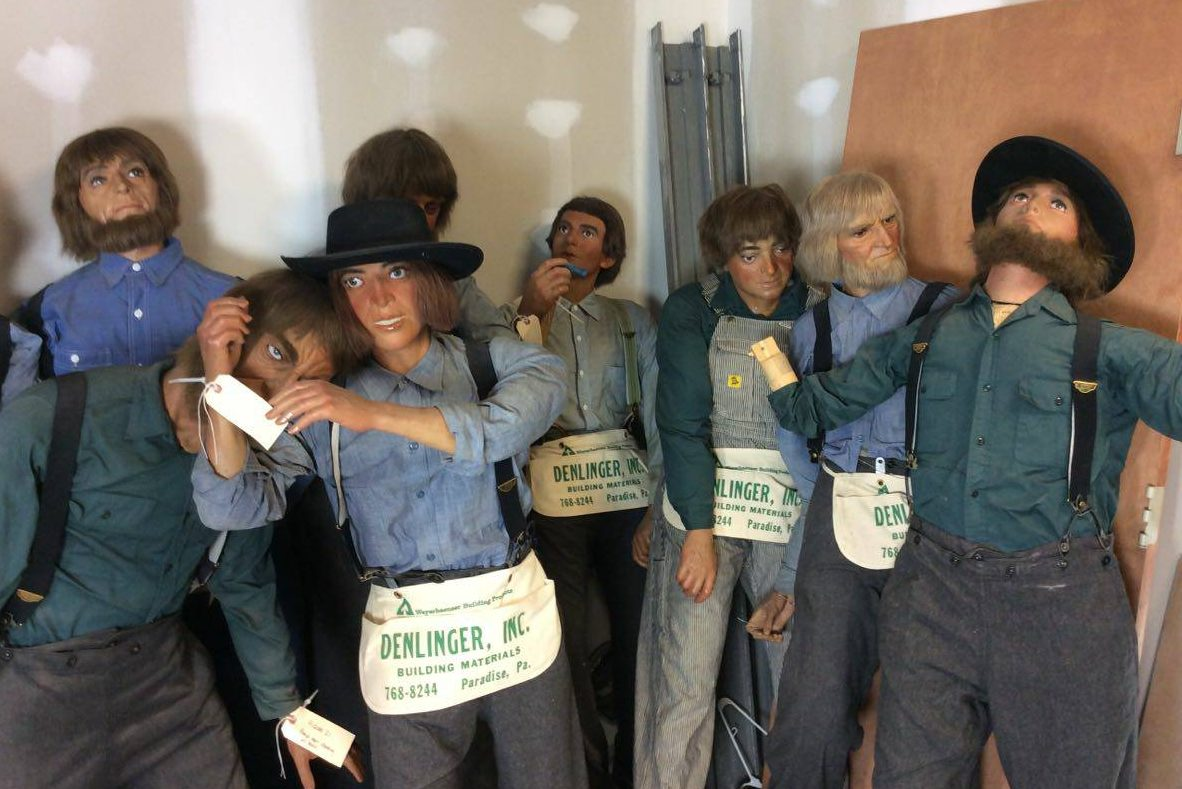 For sale: 40 life-size Amish figures from Lancaster County Wax Museum