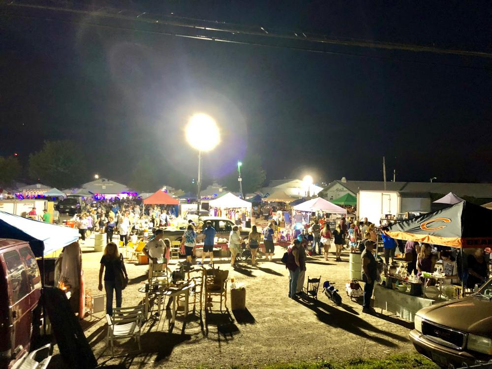 ALL NIGHT FLEA & Haunted Flea Market