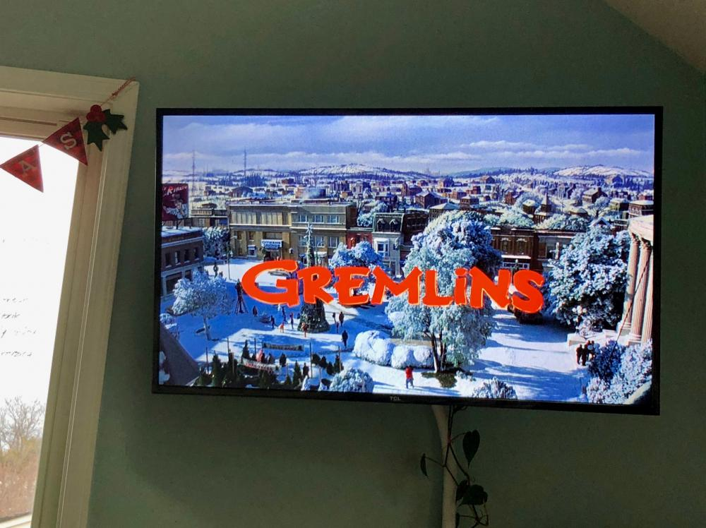 Gremlins on the TV