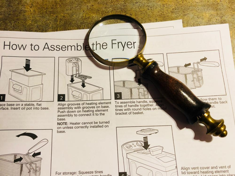 How to Assemble the Fryer