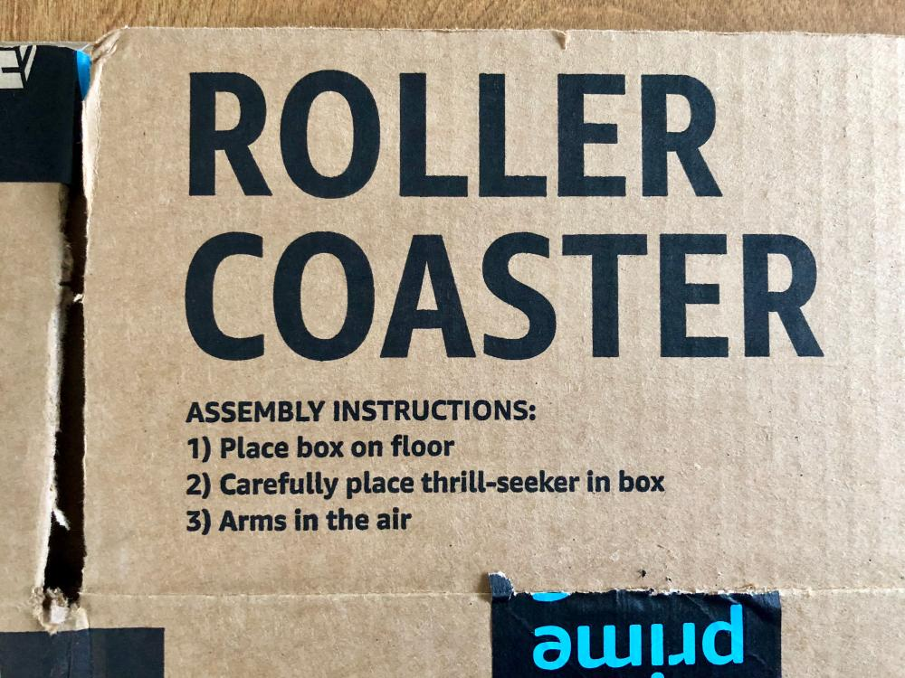 Roller Coaster instructions
