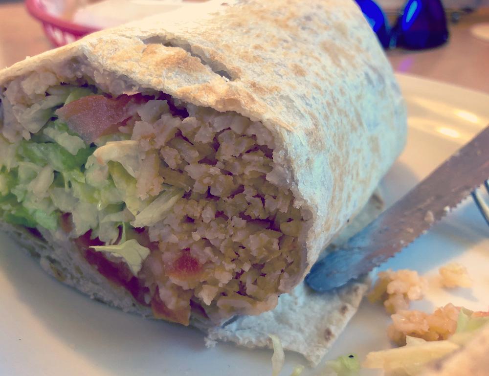 Veggie Burrito from Los Burrito's Mexicanos