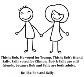 Bob and Sally are both adults