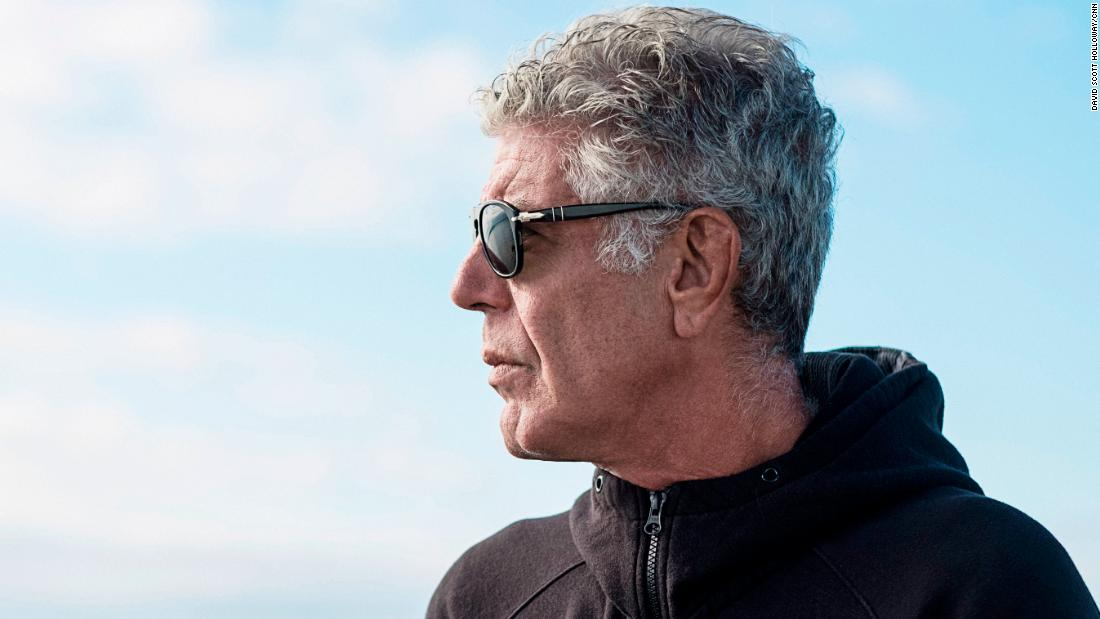 Peace out, Anthony Bourdain