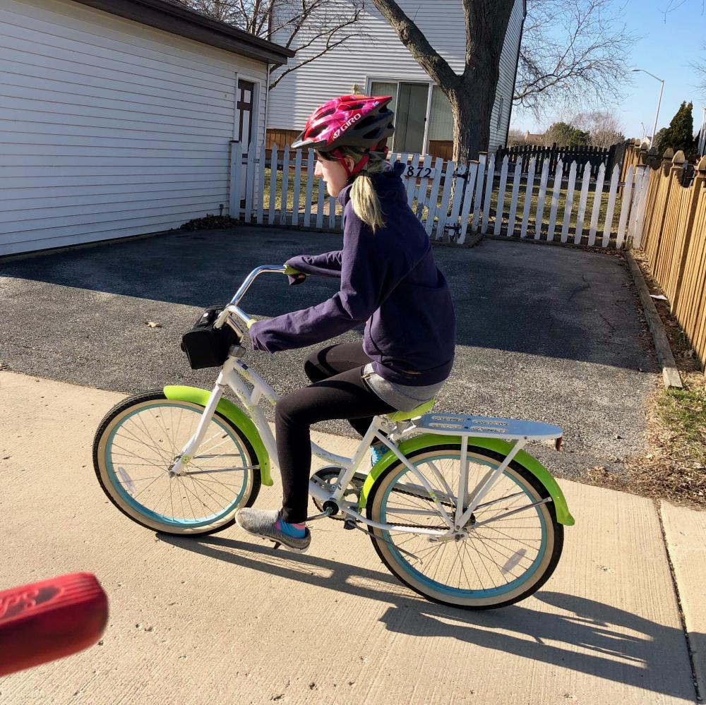 First bike ride of Spring 2018