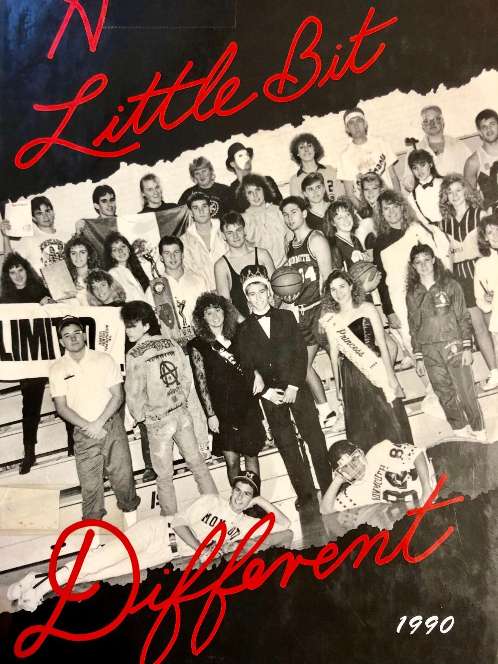 1990 yearbook cover