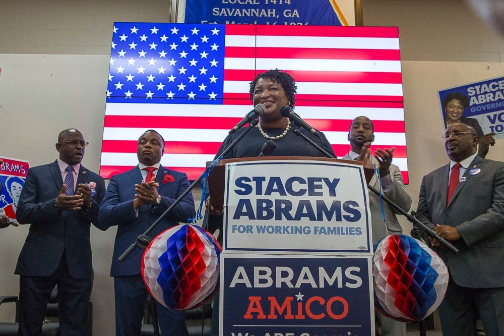 Ms. Abrams more qualified than Trump
