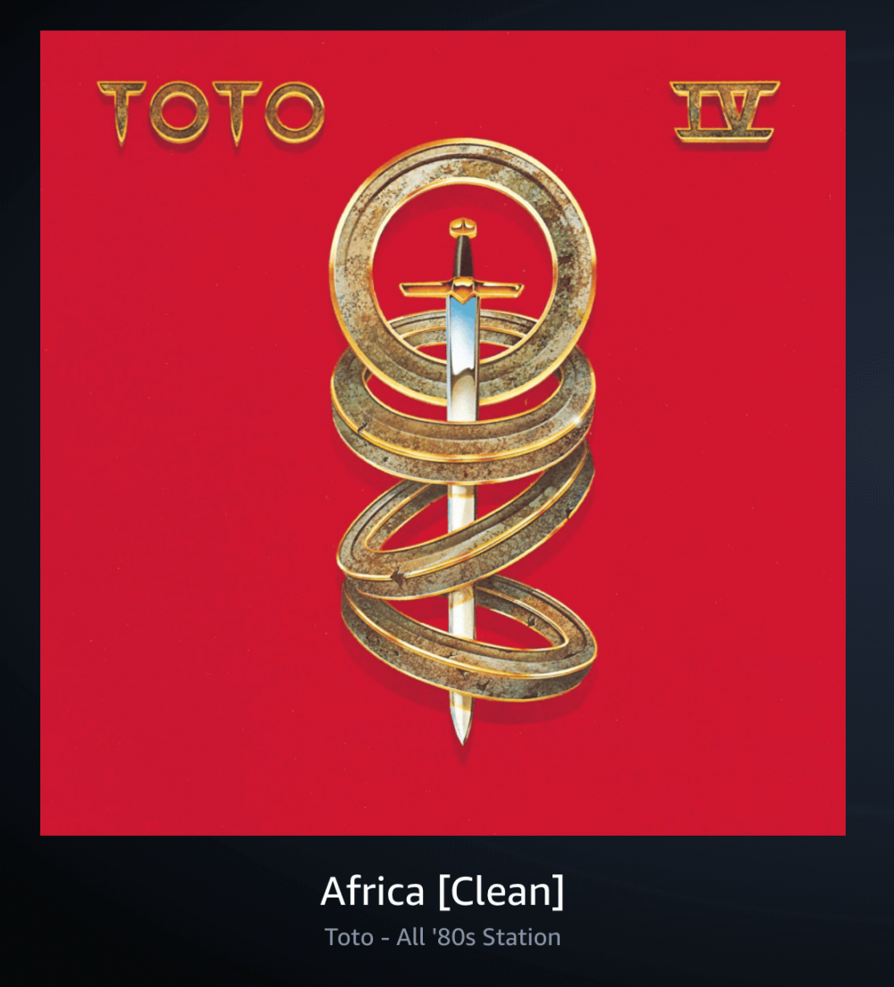 Africa [Clean] by Toto