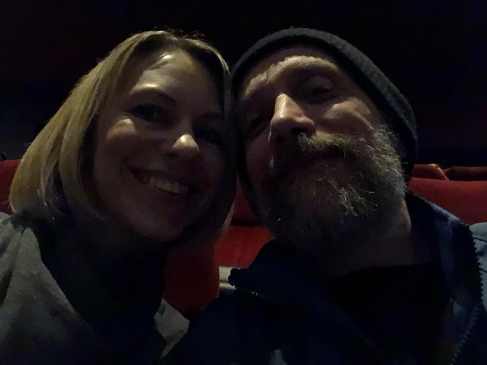 Sara and I at First Man