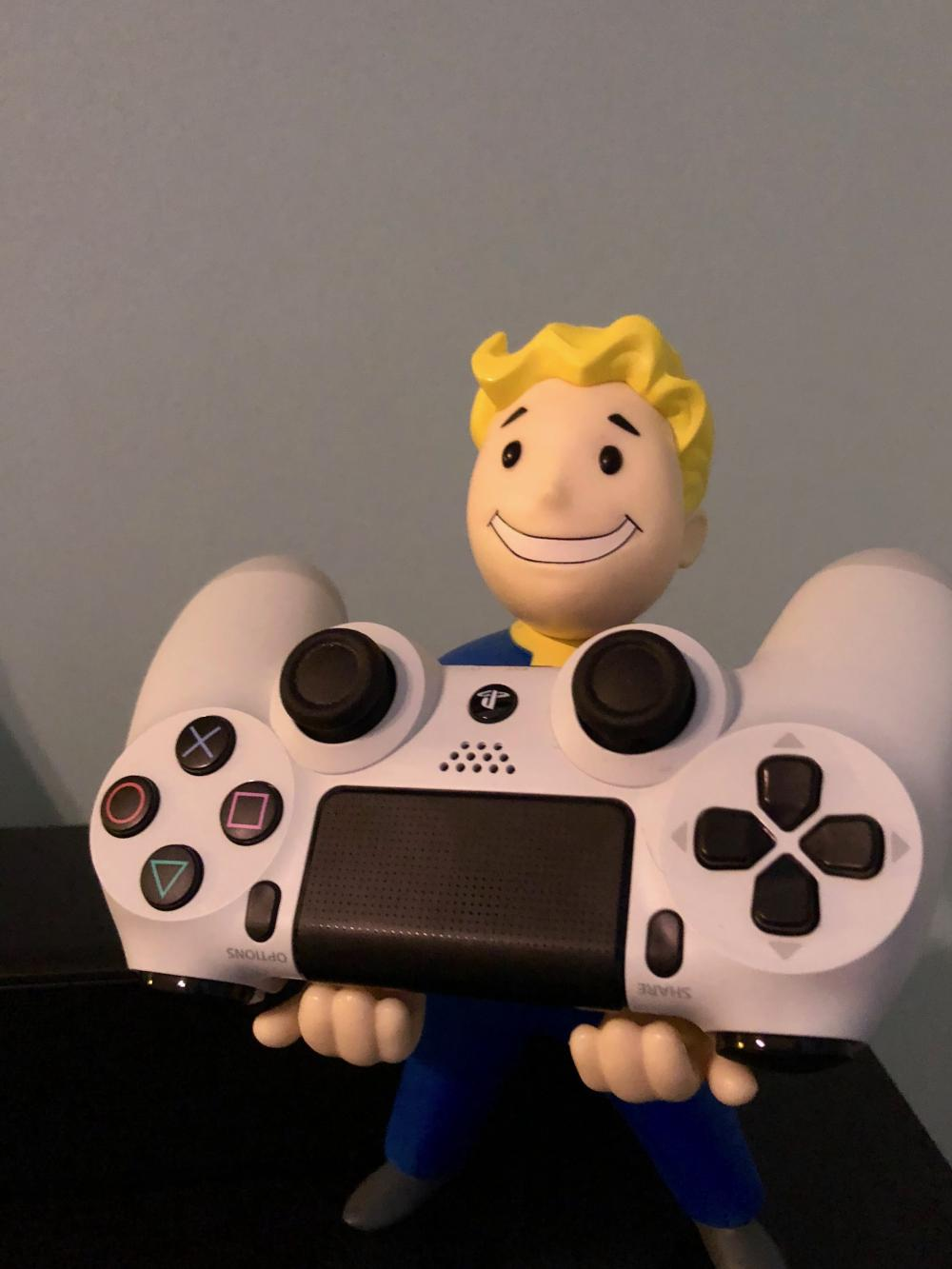 Vault Boy standing strong everyday