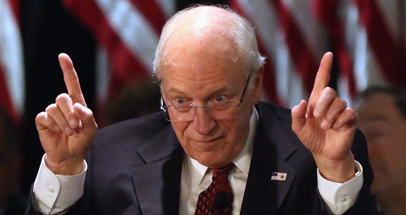 What the America needs now is Dick Cheney