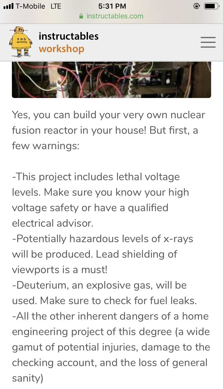 Build your very own nuclear reactor