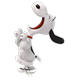 Snoopy jumping and laughing