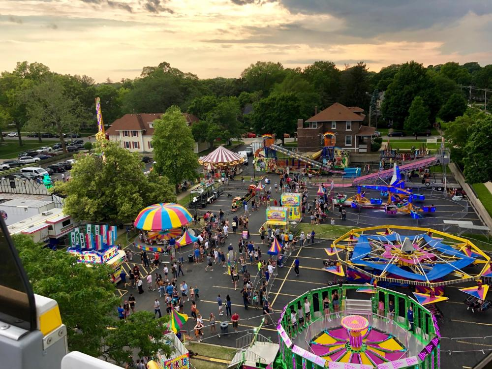 Swedish Days 2019 Ferris wheel ride