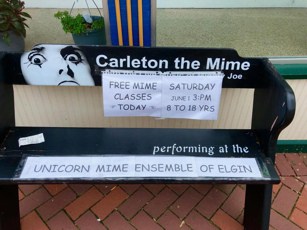 Unicorn Mime Ensemble of Elgin