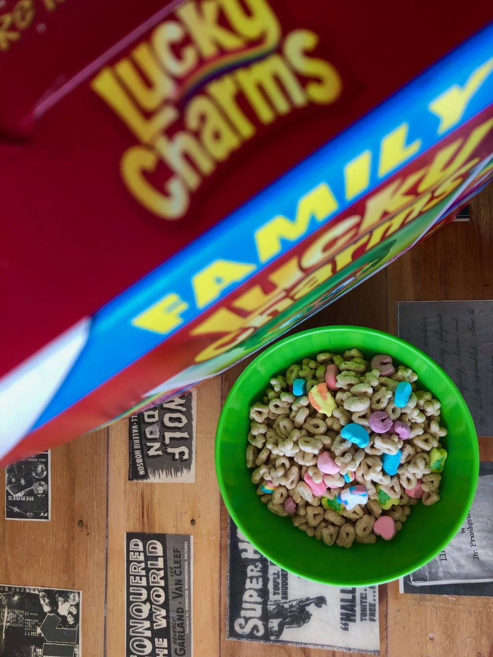 Lucky Charms cereal 1