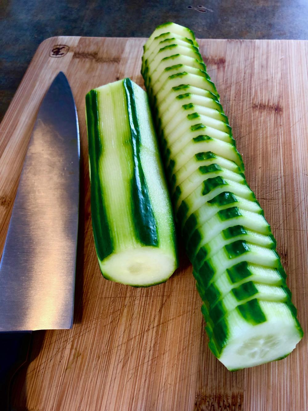 This is how I cucumber