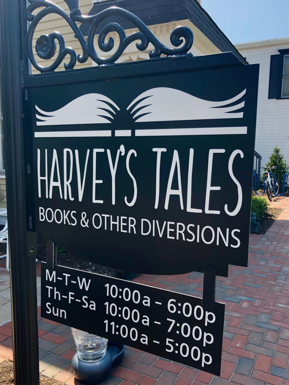 Harvey's Tales, books & other diversions