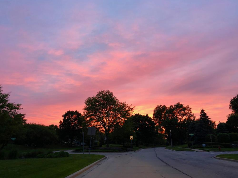 Sunset for May 29th, 2019