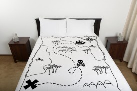 treasure map for fitted sheet
