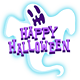 Giggles and Ghouls Happy Halloween friendly ghost