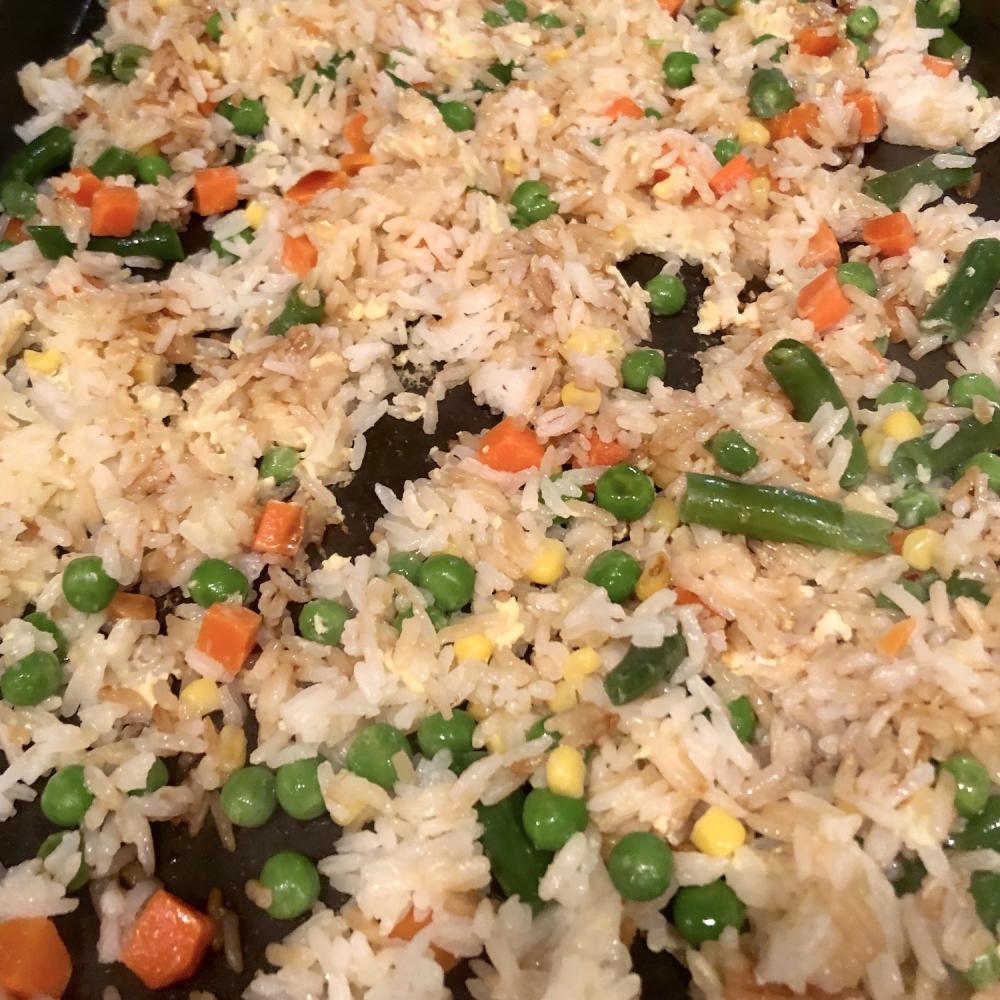 Your basic homemade fried rice 2