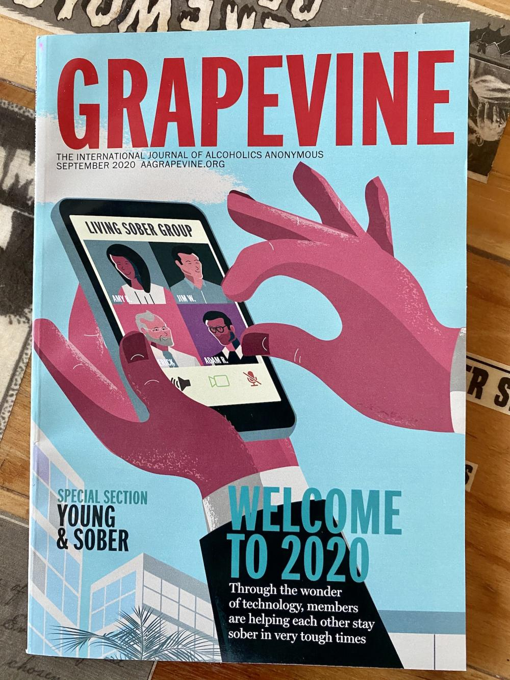 AA Grapevine September 2020 issue