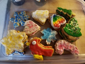 fiats Christmas cookies
