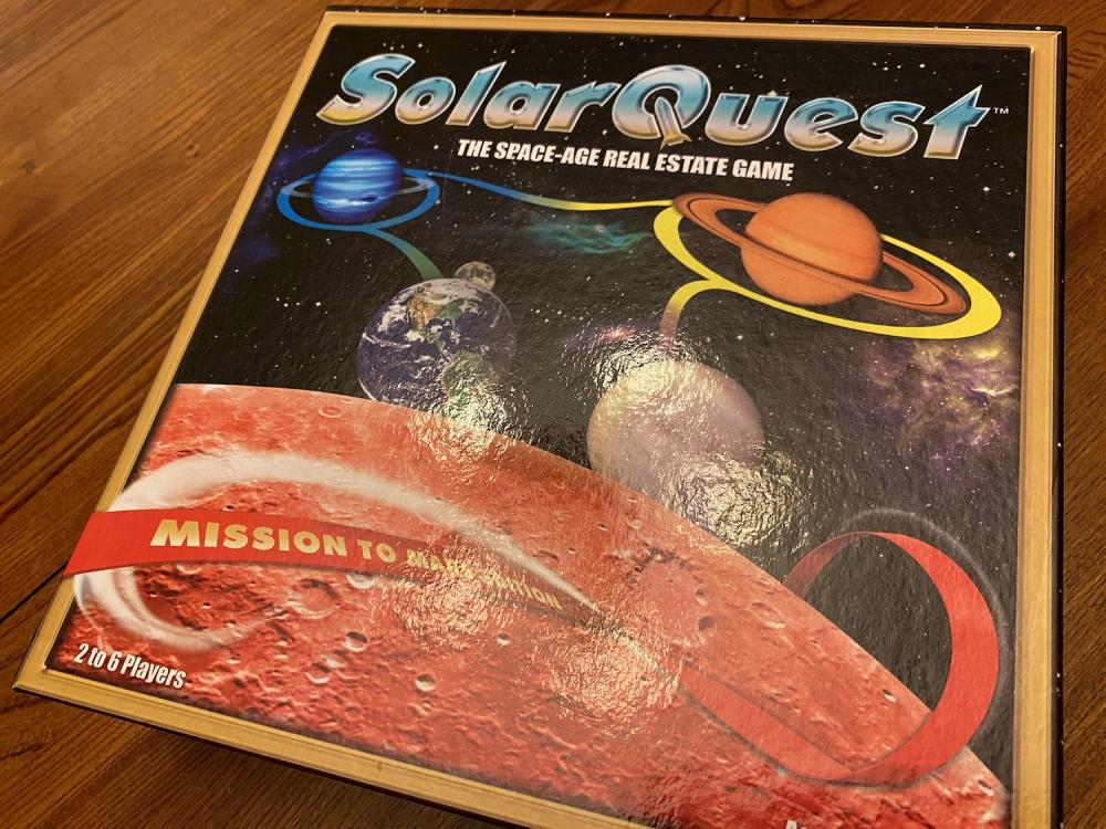 SolarQuest board game