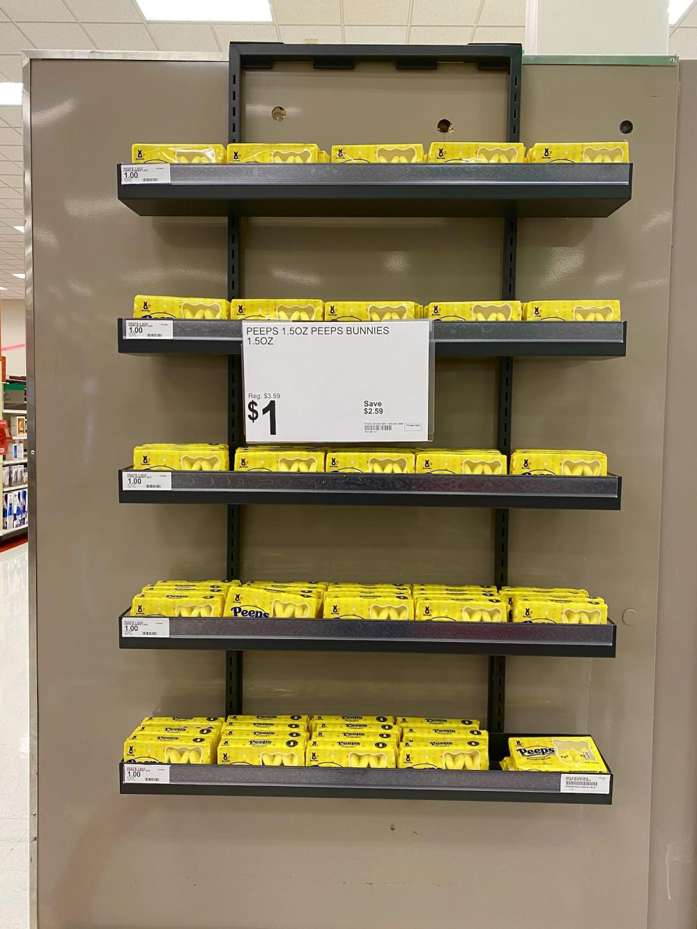 The saddest Peeps display