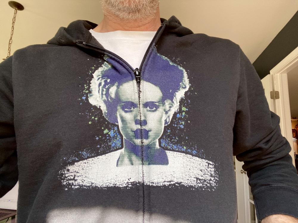New Bride of Frankenstein hoodie