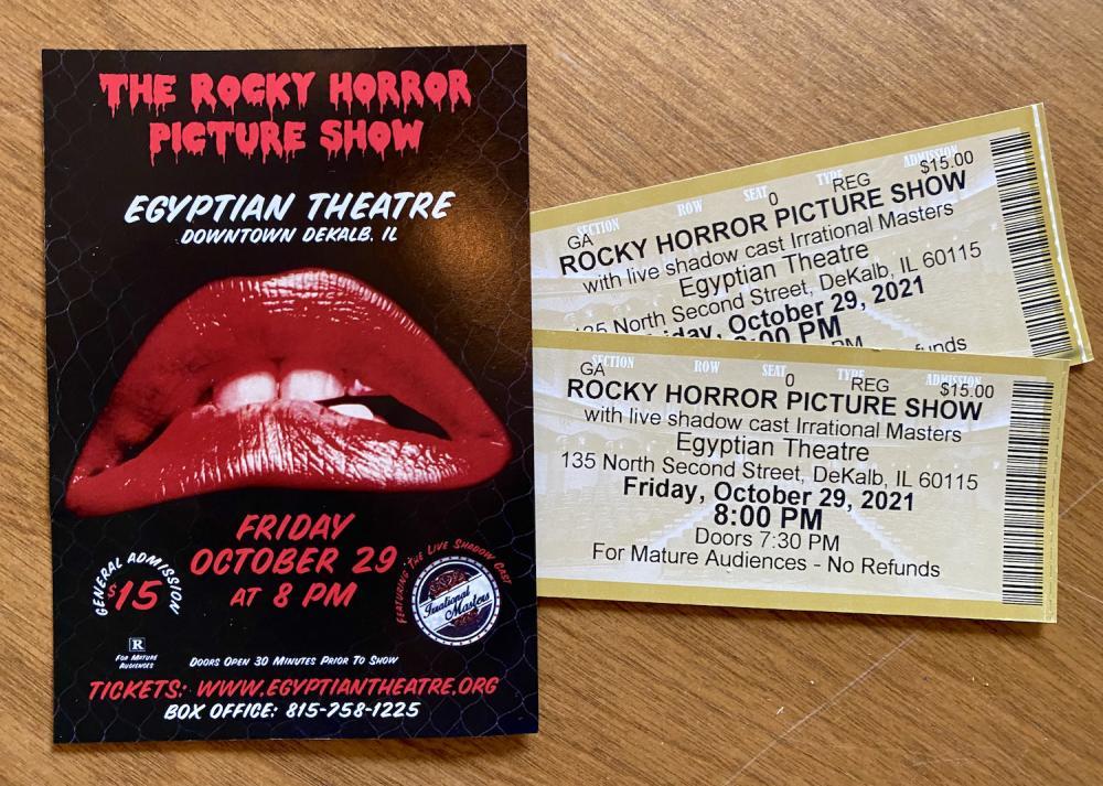 Rocky Horror tickets 2021
